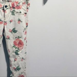 Cute Free People Floral Pants